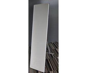 Spiegel Staand Zwart : Aqua splash passpiegel staand met ledverlichting cm
