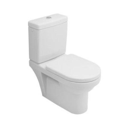 Omnia Architecture Duoblok Toiletpot Diepspoel Met Reservoir En Closetzitting Met Deksel
