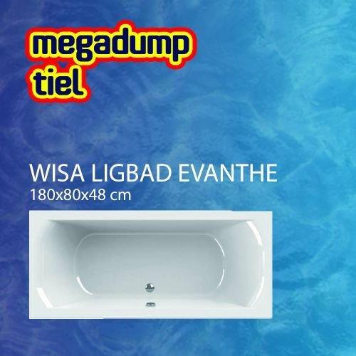Ligbad Evanthe 180X80 Cm
