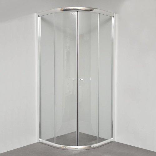 Douchecabine Kwartrond Tris 100X100X200 Cm 6 Mm Glas