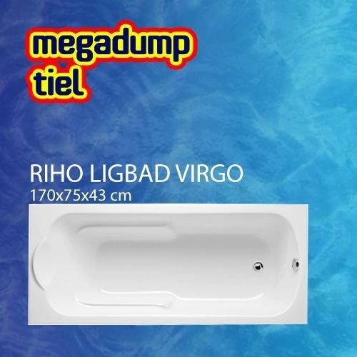 Ligbad Virgo 170X75X43 Cm Wit
