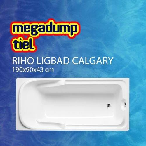 Ligbad Calgary 190X90X43 Cm Wit