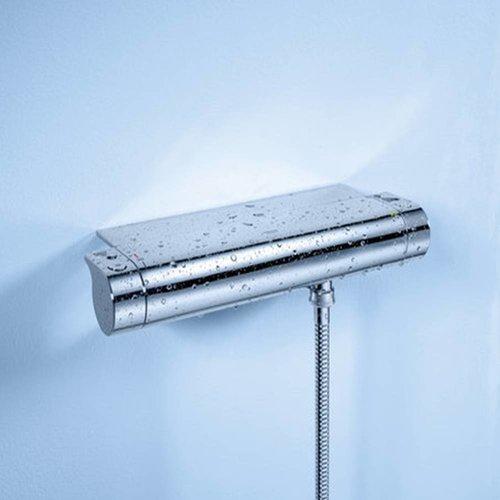 New Grohtherm 2000 Douchethermostaat 15 Cm Met Koppeling En Tray Chroom
