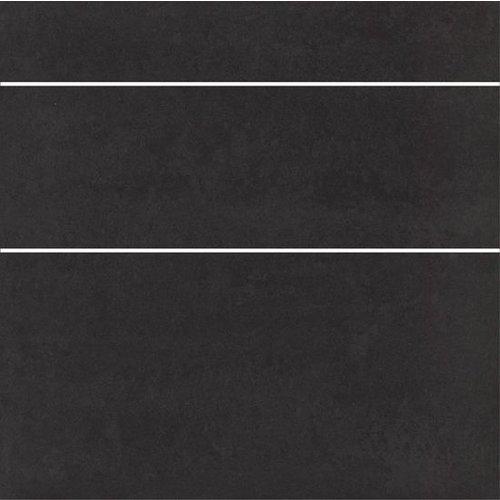 Doblo Nero Stroken Met Structuur 5/10/15X60 P/M²
