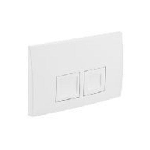 Geberit Delta-50 Drukplaat Wit Voor De Up100 Inbouwreservoir