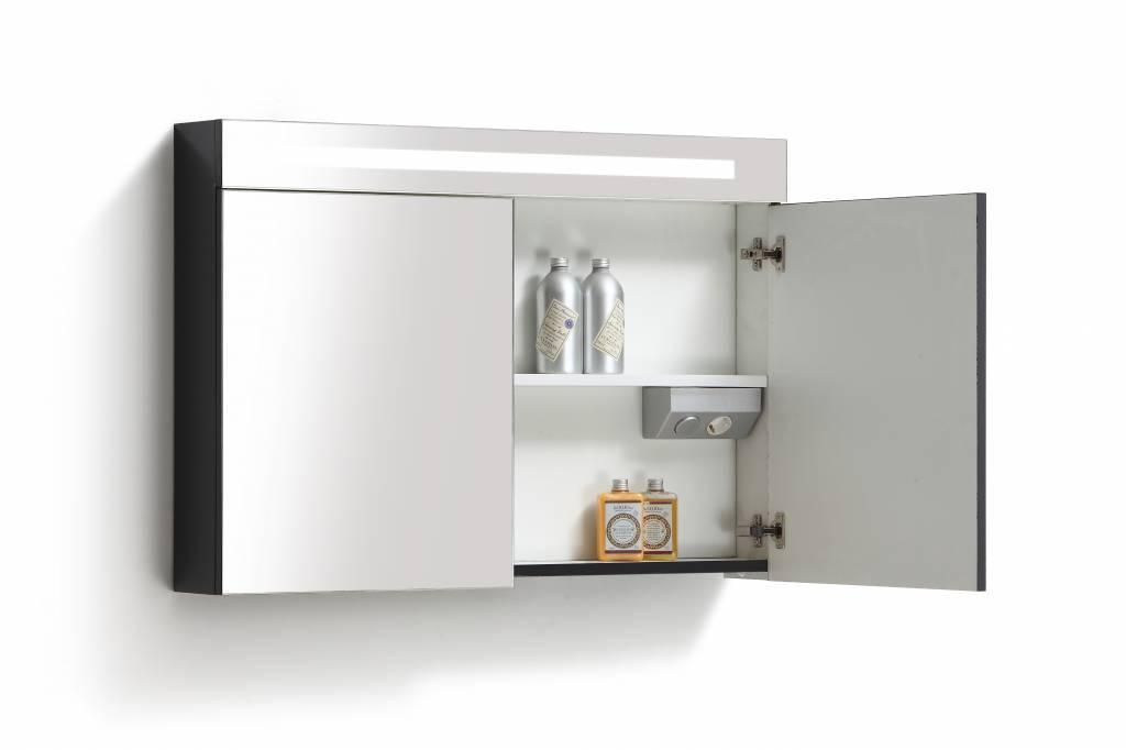 Aqua Royal Spiegelkast 120 Cm Met Tl Verlichting En Stopcontact 4 ...