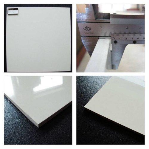 Vloertegel Hoogglans Wit Gepolijst 60X60 P/M²