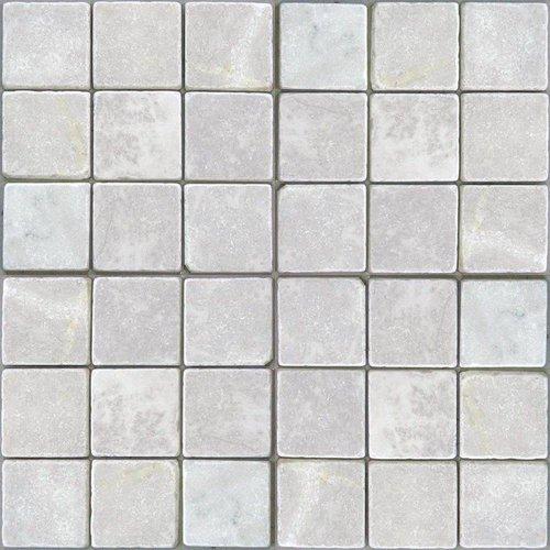 Marmer Wit Natuursteen 10X10 Cm P/M²