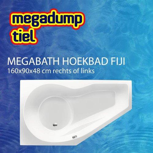 Hoekbad Fiji 160X90X48 Cm Rechts/Links