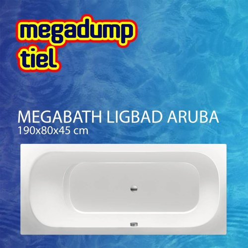 Ligbad Aruba 190X80X45 Cm