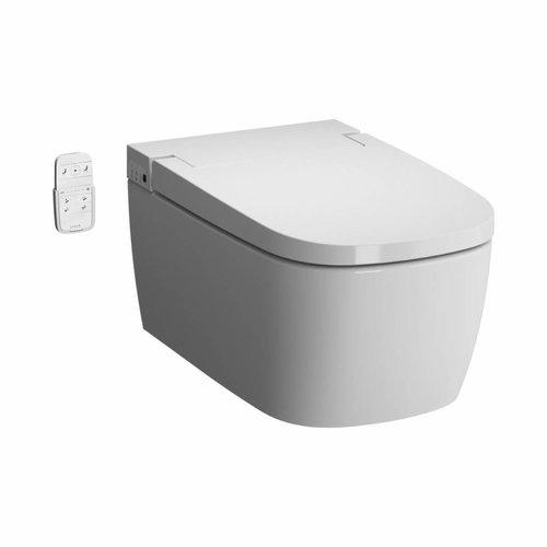 Douche WC Zero V-Care Comfort Keramiek Rimfree Diepspoel 38x60cm Wit