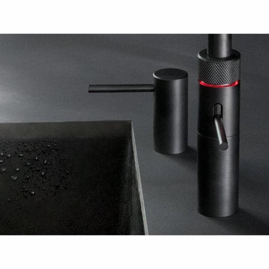 Quooker Zeepdispenser Nordic Black Mat Zwart
