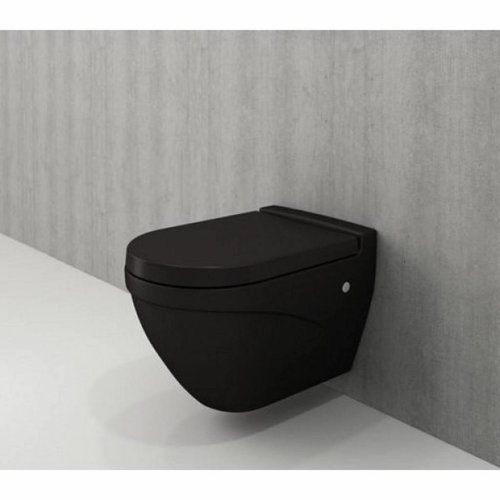 Toiletpot Bocchi Taormina Arch Mat Zwart