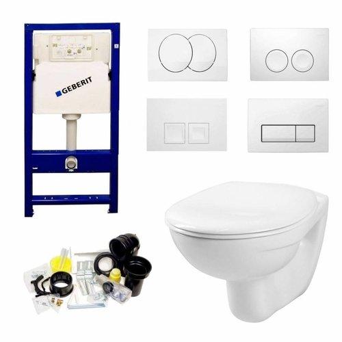 Geberit UP100 Toilet Aktieset Start met Delta Drukplaten