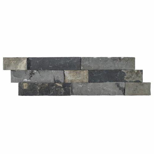 Steenstrips 03 Gray Brown Marmer 15x50 cm (Prijs per M²)