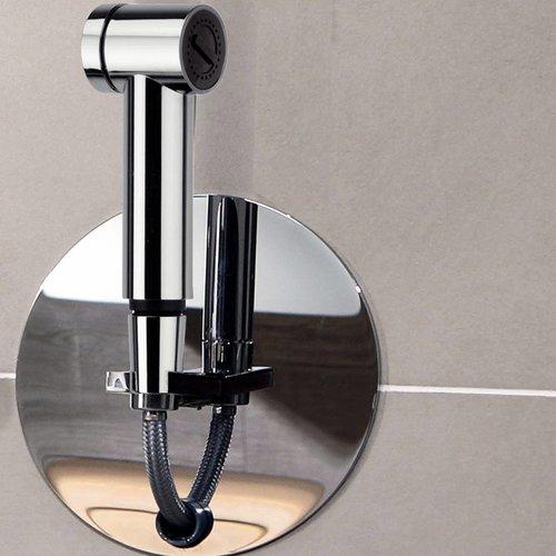 Inbouw Doucheslang Roll-in Shower met Knijp Handdouche Chroom