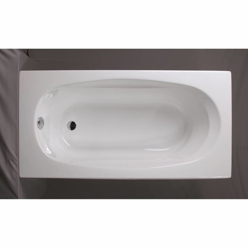 Ligbad Acryl 170x80x60 cm Wit