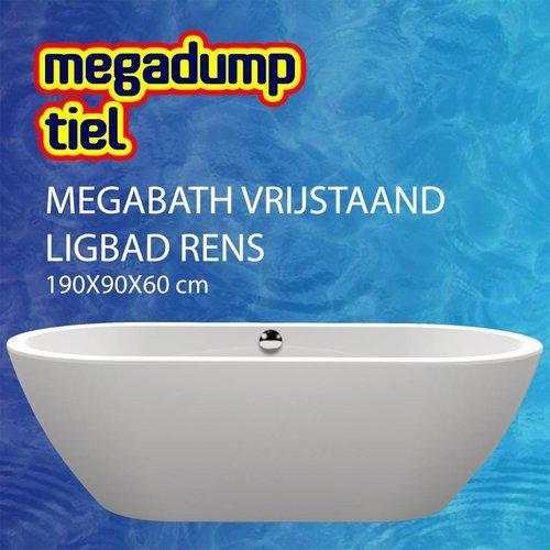 Vrijstaand Ligbad Rens 190X90X60 Cm