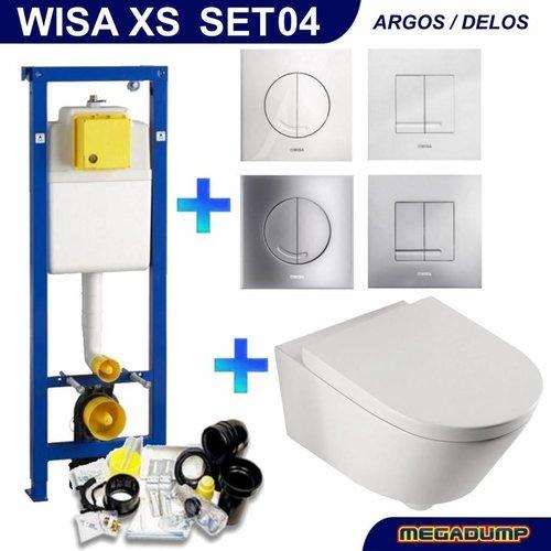 Xs Toiletset 04 Aqua Splash Metro Met Bril En Drukplaat