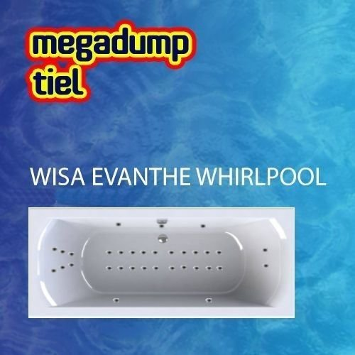 Evanthe Whirlpool 180X80X48 Cm Sportpakket Deluxe