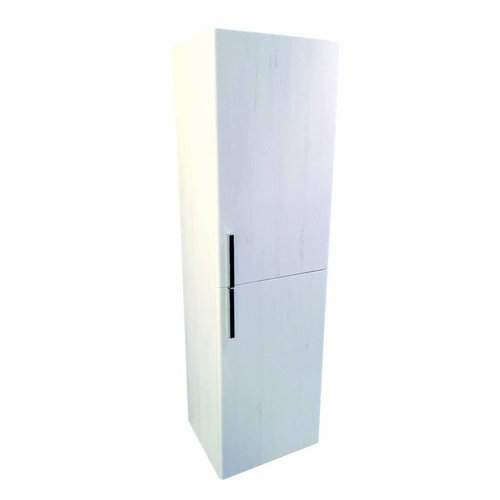 Halfhoge Kolomkast Lours 120X35X30Cm Pine White