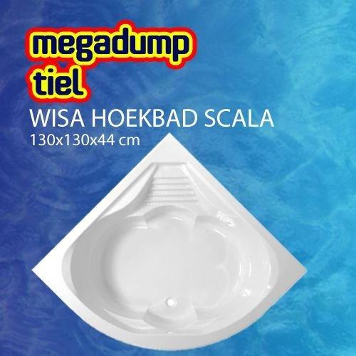 Hoekbad Scala Wit