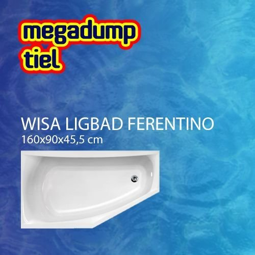 Hoekbad Ferentino 160X90 Cm