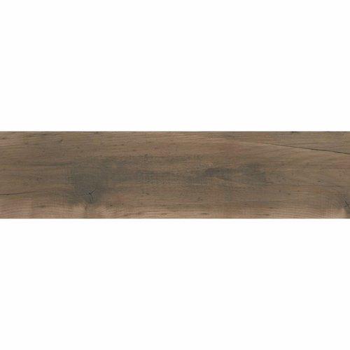 Houtlooktegel Js Stone Dundee 25x100 cm Caoba Mate (doosinhoud 1.25 m2)