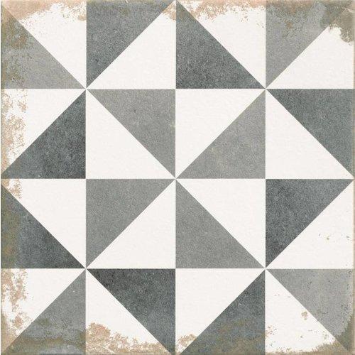 Vloertegel Antique Triangle 33,3x33,3 (Doosinhoud 1 M²)