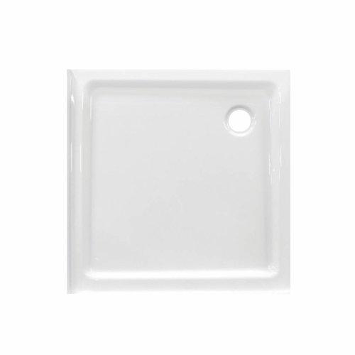 Douchebak VM Go Eden PLUS 80x80x6cm Acryl Vierkant Met 2 Randen