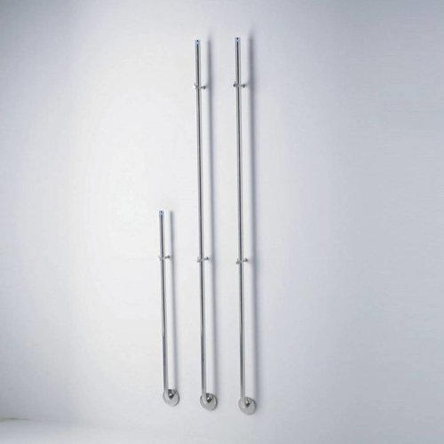 Elektrische Radiator Stick Instamat Jay 172 cm 29W Gepolijst RVS