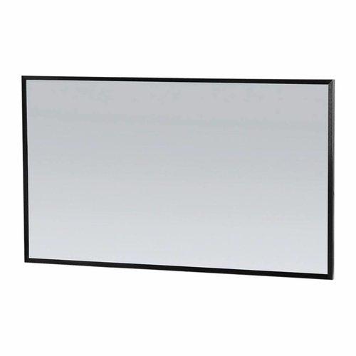 Spiegel Topa Silhouette 120x70x2.5 cm Aluminium Zwart