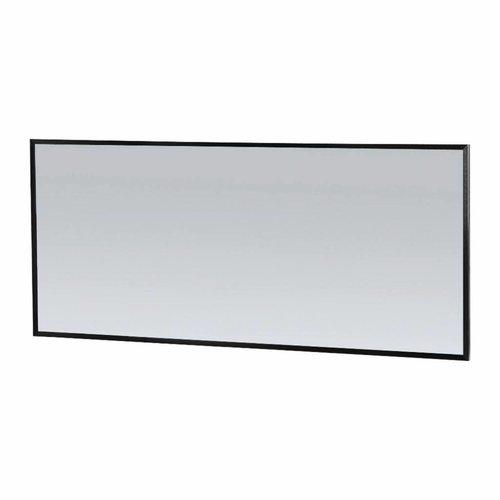 Spiegel Topa Silhouette 160x70x2.5 cm Aluminium Zwart