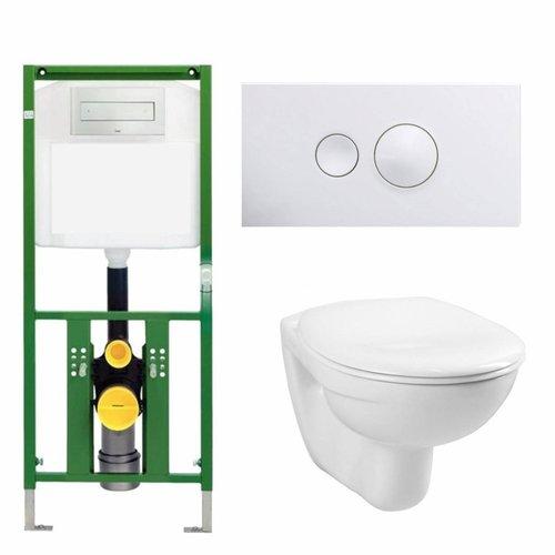 Ecoplus Toiletset 03 Megasplash Basic Smart Met Bril En Drukplaat