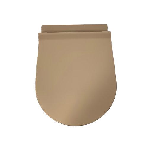 Toiletzitting Salenzi Form Slim Mat Beige