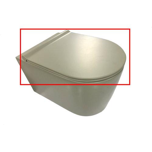 Toiletzitting Salenzi Form Slim Mat Legergroen