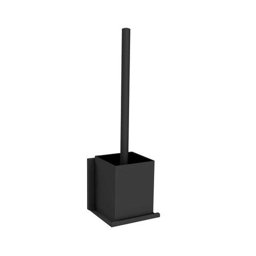 Toiletborstelhouder Allibert Loft-Game Hangend Model Mat Zwart
