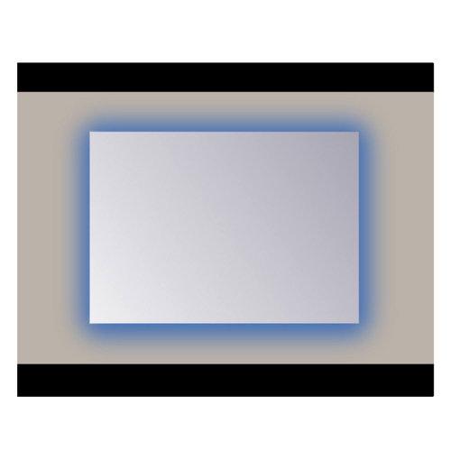 Spiegel Sanicare Q-mirrors 60 x 65 cm Ambiance RGB LED PP Geslepen