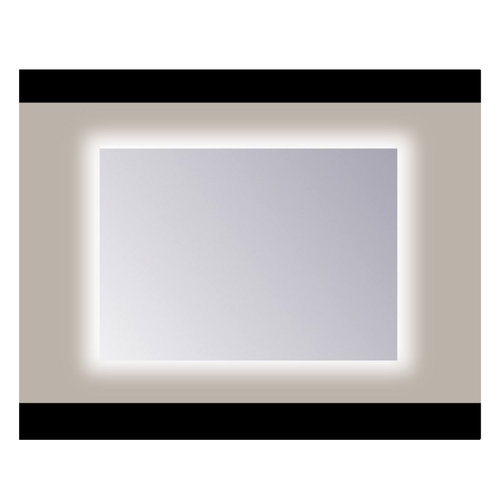 Spiegel Sanicare Q-mirrors Zonder Omlijsting 60 x 120 cm Rondom Warm White LED PP Geslepen