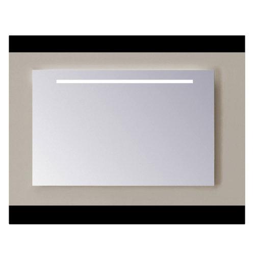 Spiegel Sanicare Q-mirrors Zonder Omlijsting 60 x 100 cm Cold White LED PP Geslepen