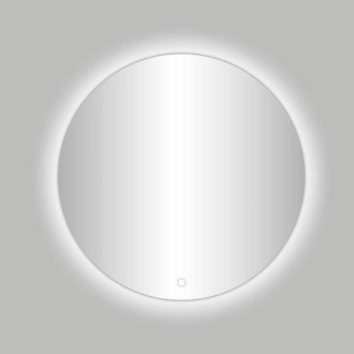 Ronde Spiegel Best Design Ingiro Inclusief LED Verlichting Ø 80 cm