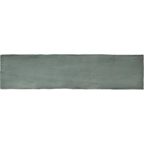 Wandtegel Colonial Jade Mat 7.5x30 cm Mat Groen Prijs P/m2