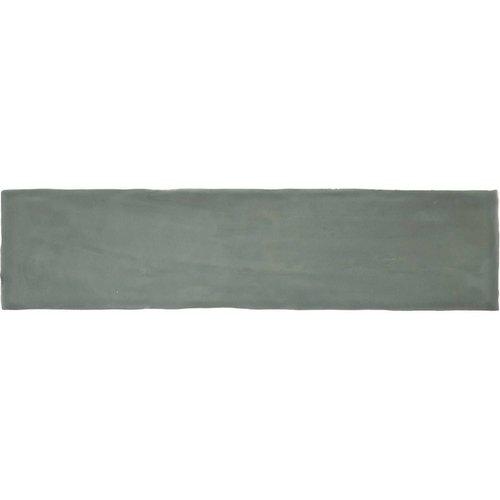 Wandtegel Colonial Jade Glans 7.5x30 cm Glans Groen (doosinhoud 0.5 m2)