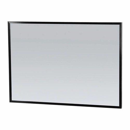 Spiegel Topa Silhouette 100x70x2.5 cm Aluminium Zwart