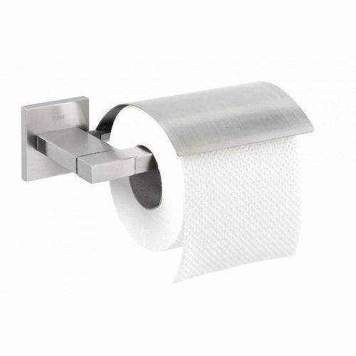 Toiletrolhouder Tiger Items Met Klep RVS