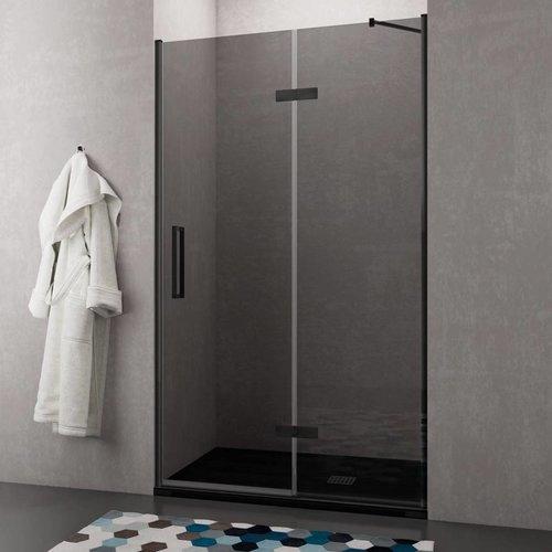Nisdeur Lacus Elba 90x200 cm 8mm Nano Rookglas (binnen en buiten klapdeur)