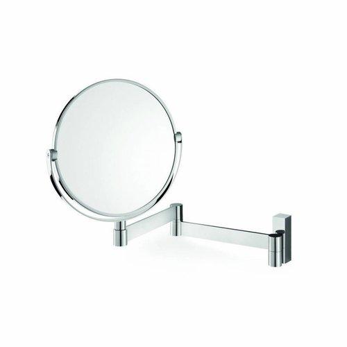 Make-Up Spiegel Zack Linea ø 18 cm Drie Keer Vergrotend RVS