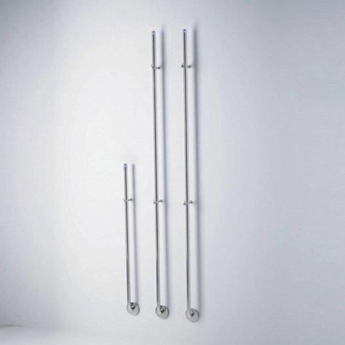 Elektrische Radiator Stick Instamat Jay 82 cm 12W Gepolijst RVS