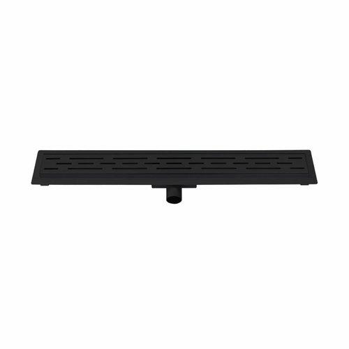 Douchegoot Best Design Black Met Flens 100x7x6.7cm Mat Zwart