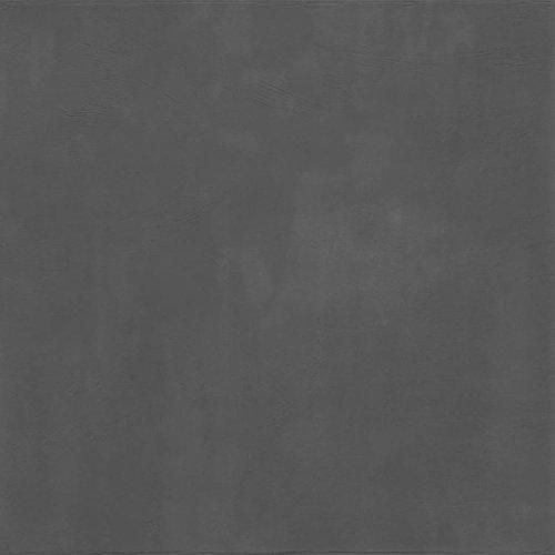 Vloertegel Jos Strucco Plaster Uni 80x80 cm Antracita (doosinhoud 1.28 m2)